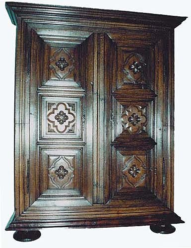 french antique Louis XIII Armoire