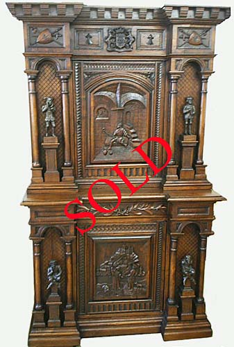 Charming Antique Cabinet History Of Brittany