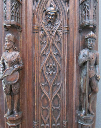 Gothic cabinet antique cabinets item by m markley