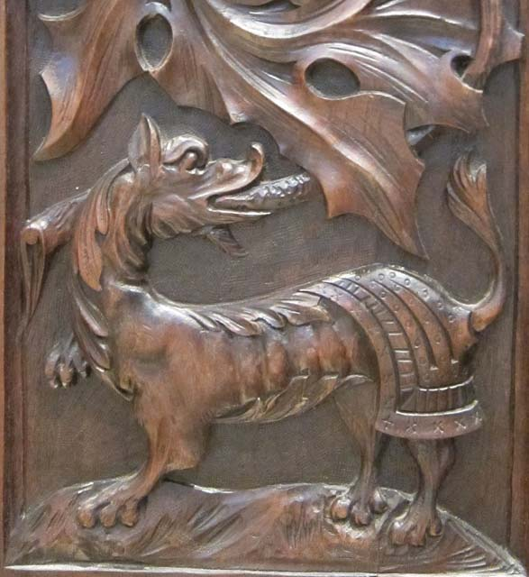 chimera on armoire
