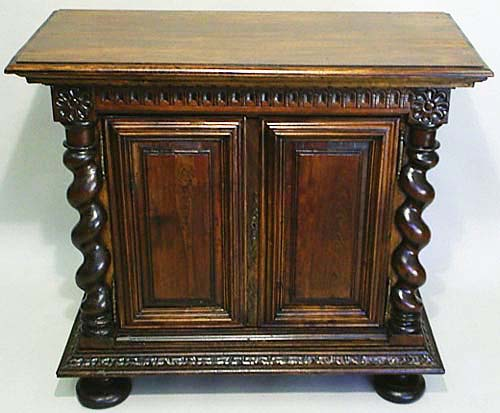 #9230 - Louis XIII Style Antique Cabinet