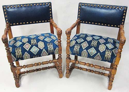 #3087 - 14 Louis XIII Style Chairs