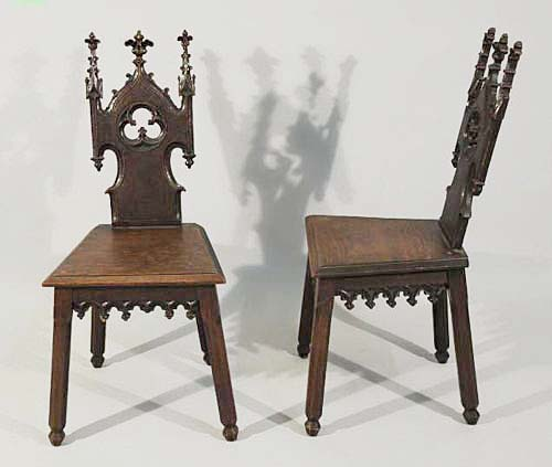 french gothic antiques