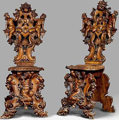 french antique chairs & Gothic and Renaissance | Antique Furniture from France