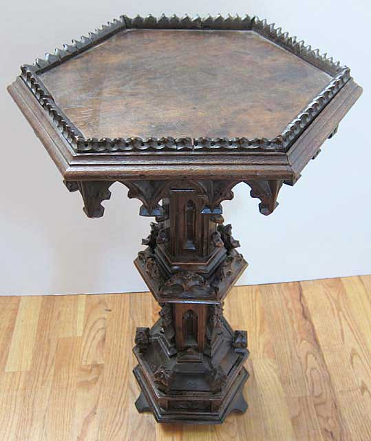 French Gothic Gueridon Table