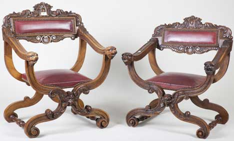 pair of children's fauteuils Dagobert