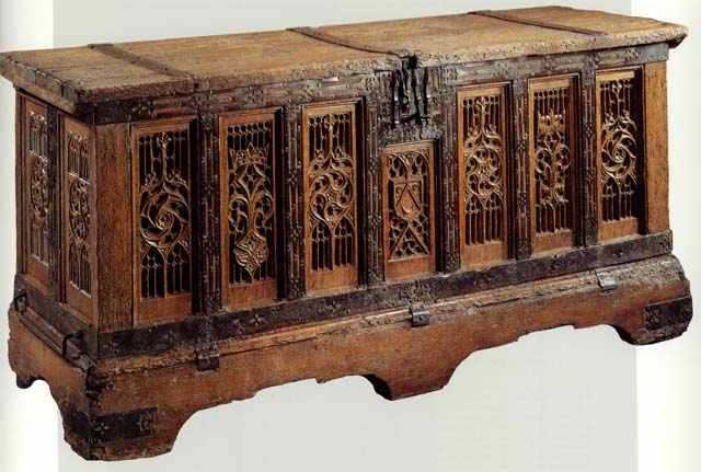 perrier collection 15th century chest