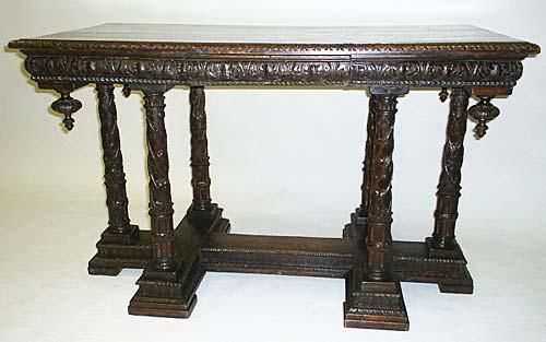 Wonderful #3304   Renaissance Croix De Lorraine Table