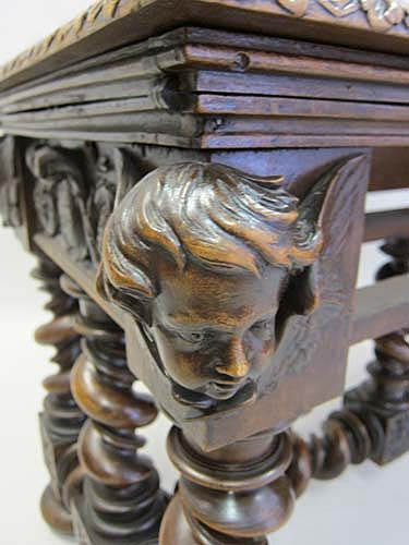 French antique gaming table