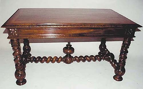 french antique louis xiii table or desk. Black Bedroom Furniture Sets. Home Design Ideas